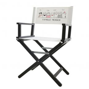 Chaise de réalisateur personnalisée Joyeux Lurons