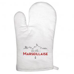 Gant de cuisine Fier d'être Marseillais