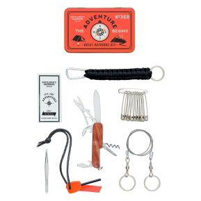 Gentlemen's Hardware kit de survie en nature personnalisable