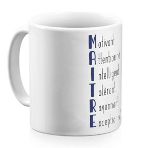 Mug Les qualités du Maître