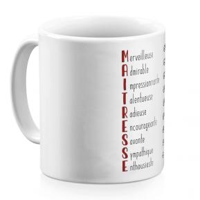 Mug Les qualités de la Maîtresse