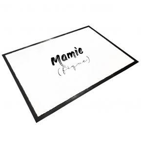 Tapis d'entrée en caoutchouc Mamie (fique)