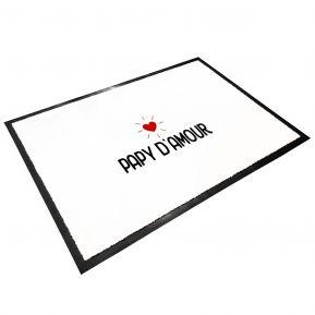 Tapis d'entrée en caoutchouc Papy d'amour