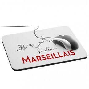 Tapis de souris Fier d'être Marseillais