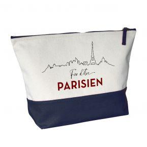 Grande trousse bicolore Fier d'être Parisien
