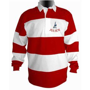 Polo Rugby marinière