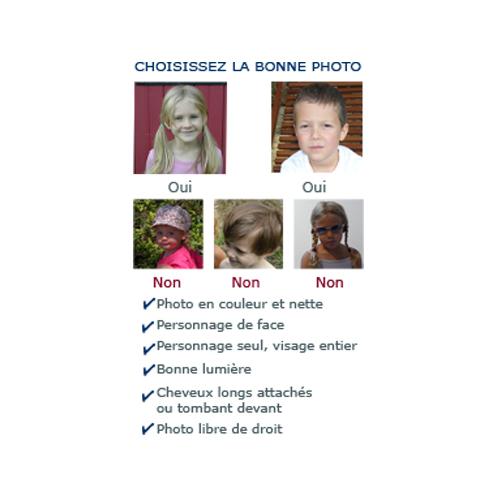 Livre personnalisé avec photo enfant