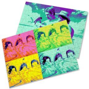 Puzzle photo pop art