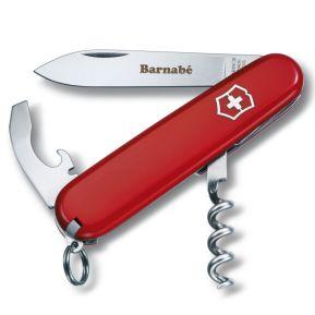 Couteau suisse gravé