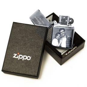 Zippo® personnalisé photo