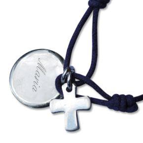 Médaille de baptême et croix