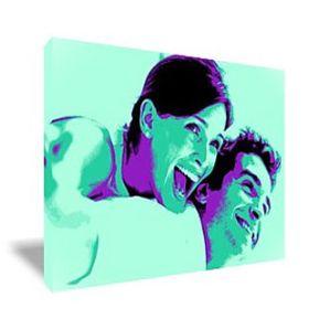 Tableau Pop Art rectangulaire 1 photo