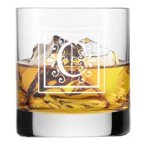 Verre à whisky initiale