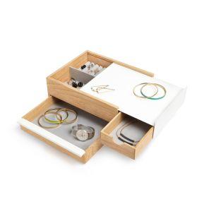 Boîte à bijoux multi-rangements design