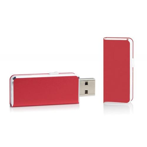 Clé USB 8Go de poche personnalisée rouge