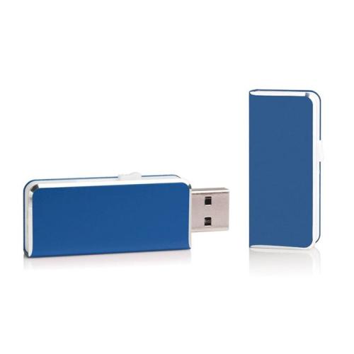 Clé USB 8Go de poche personnalisée bleu