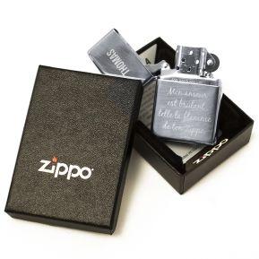 Zippo® gravé prénom