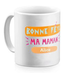 Mug Bonne Fête à Maman