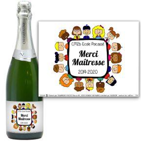 Champagne Merci Maîtresse