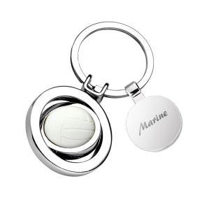 Porte-clés personnalisé ballon de volley