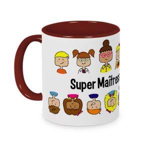 Mug Merci Maîtresse coloré