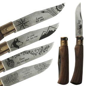 Couteau pliant Old Bear motifs