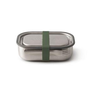 Lunch box vert multi fonction en acier