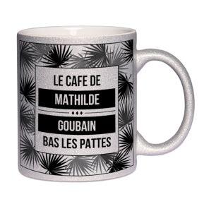 Mug à paillettes Palmiers