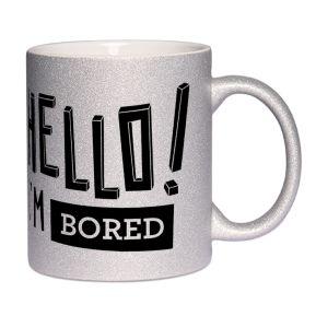 Mug à paillettes HELLO