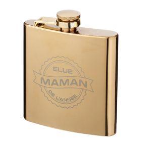 Flasque dorée Maman de l'année