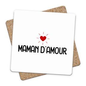 Sous-bock Maman d'amour