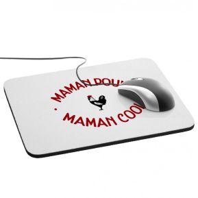 Tapis de souris Maman Poule Maman Cool