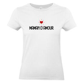 T-shirt Maman d'amour