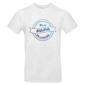 T-shirt Elu Papa de l'année