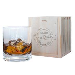 Verre à whisky Elue Maman de l'année