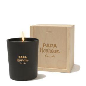 Bougie Papa Heureux