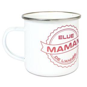 Tasse émaillée Maman de l'année