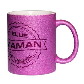 Mug à paillettes Maman de l'année