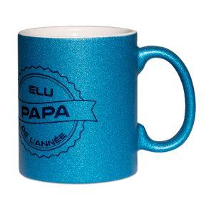 Mug à paillettes Papa de l'année