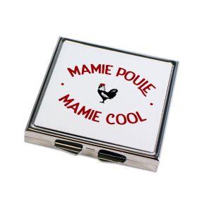 Miroir de poche Mamie Poule Mamie Cool