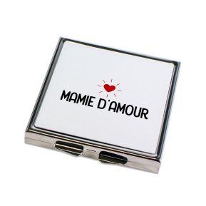 Miroir de poche Mamie d'amour