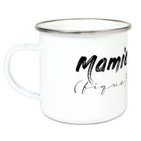 Tasse émaillée Mamie (fique)