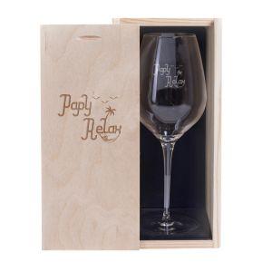 Verre à vin Papy Relax