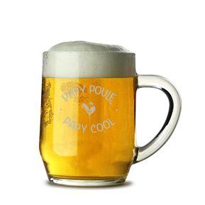 Chope de bière Papy Poule - Cool