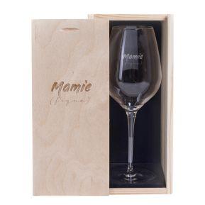 Verre à vin Mamie (fique)