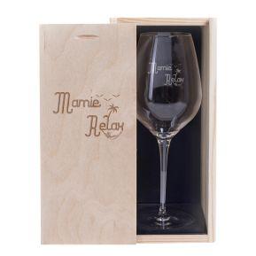 Verre à vin Mamie Relax