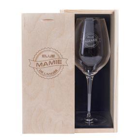 Verre à vin Mamie de l'année