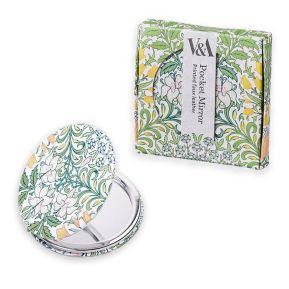 Miroir de poche fleuri de la marque V&A