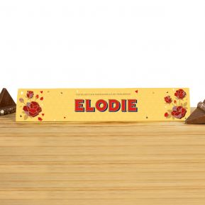 Toblerone 360g personnalisé Maman - Chocolat au Lait