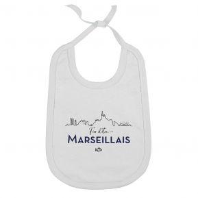 Bavoir Fier d'être Marseillais